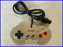 Nintendo New Famicom NES Japan retro video game console AC adopter AV cable