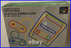 Nintendo Super Famicom console japan Version complete mint condition NEW