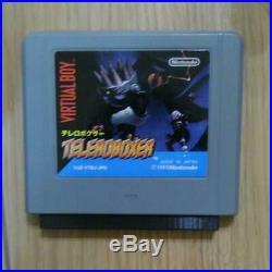 Nintendo Virtual Boy Console System 1995 retro game F/S