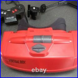 Nintendo Virtual Boy System Console Japanese 1995 Retro Game JUNK for parts