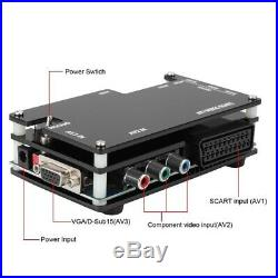 OSSC MI Converter Kit for Retro Game Consoles PS1 2 Xbox Sega Atari Ninten P4E0