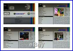 Odroid XU4 Retro Games Console 128 320GB Plug & Play Arcade Machine