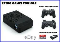 Odroid XU4 Retro Games Console 200 or 320 GB Powerful Arcade Gaming Machine