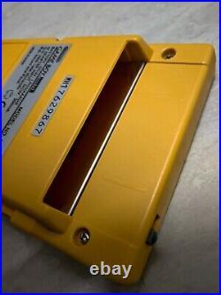 Original Retro Nintendo Game Boy Pocket Yellow. Unit In Perfect Condition