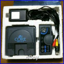 PC Engine Core Grafx Console System 1989 PI-TG3 Retro Video Game Vintage