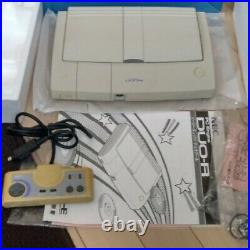 PC Engine DUO-R Console System PCE-DUOR NEC 1993 Retro Video Game Used Free Ship