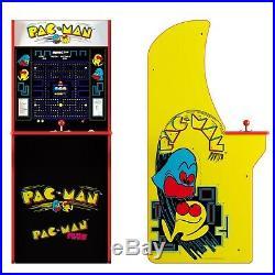 Pacman Retro Arcade 1UP Machine, Arcade1UP, 4ft Cabinet Video Game Cab 2 Games