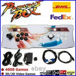 Pandora Box 2448 / 4000 in 1 Video Games 3D Arcade Console Retro HD 2 Joysticks