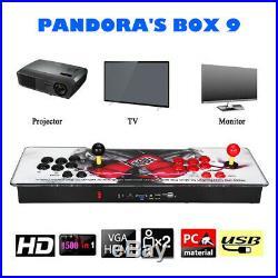 Pandora's Box 1500 in 1 Classic Video Games 2 Players Retro Arcade Console Audio