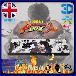 Pandora's Box 9D 2500 in 1 Retro Video Arcade Game Console for TV Pandora 9