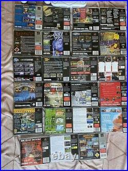 Playstation 1 Slim And Games Bundle RETRO (please Read Description)
