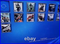 Ps3 Slim 320gb HEN CFW 4.88 with ps3 20 games, 20000 retro games and 20 ps1 games