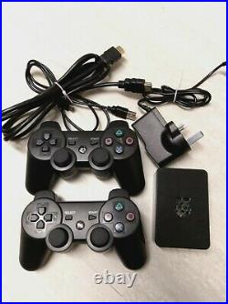 RASPBERRY PI 3 RETRO GAMING CONSOLE 128GB WITH 2x PS CONTROLLERS