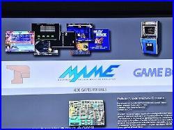 RES retro gaming Console RetroPie Emulator Wireless Controller 64 Gb Hdmi 43.000