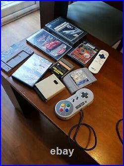 RETRO GAME CONSOLES joblot PlayStation 1/SEGA Mega drive II/ games etc spares