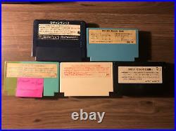 RETRO USB AVS HD NINTENDO NES SYSTEM With 2 8BITDO CONTROLLERS + 5 Famicom Games