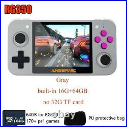 RG350 handheld Retro Video games console 64 GB TF Card 170+PS1 Games