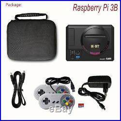 Raspberry Pi 3B+ Retropie Retro Gaming Video Console with2 Controller 10000+ Games