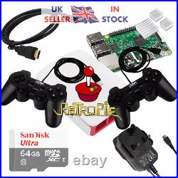 Raspberry Pi 4 2GB Retropie 64GB Retro Games Console Kit