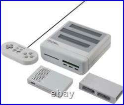 Retro Freak Controller Adapter Set For SFC Retro Game Compatible Super Gray NEW