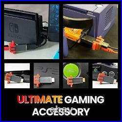 Retro Game Console and Nintendo Switch Accessories Plug&Play Real-Time Enhancer