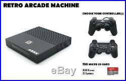 Retro Games Console- 160 GB Arcade Gaming Machine- Wired or Wireless Controllers