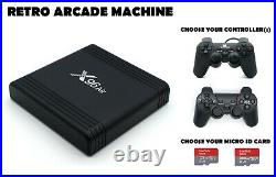 Retro Games Console- 160 or 232 GB QUALITY Arcade Gaming With Video Previews