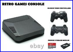 Retro Games Console 200 or 320 GB PREMIUM Raspberry Pi 4 B Arcade Machine