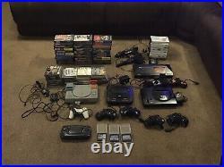 Retro Games Consoles. Sega Master System Sega Mega Drive X2 PlayStation 1 G/Gear