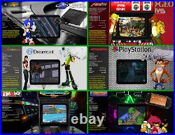 Retro Games System, Premium Emulator, Arcade Machine Console HDMI Super Fast