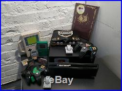 Retro Lot Zelda Custom painted Nintendo 64 N64 GB PAK Gameboy Games & more