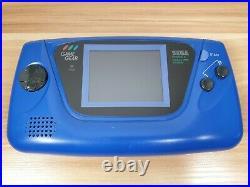 Retro Sega Game Gear Handheld Console Model 2110 Blue