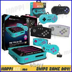 RetroN 5 HD Gaming NES ConsoleSuper Nintendo Game Boy Controller Retro System