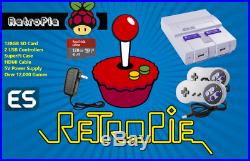 RetroPie 128GB Raspberry Pi 3 Retro Gaming Console Fully Loaded