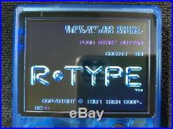 RetroStone 2 Handheld Retro Gaming Console SPECIAL Clear Blue with Joystick