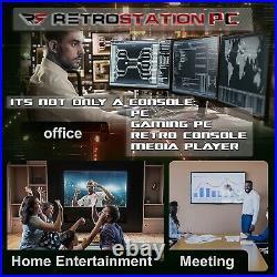 Retrostation PC Retro Console and PC 2 in 1 Video Games Retro Game Console
