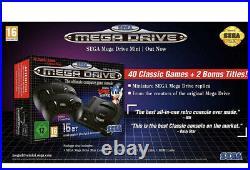 SEGA Mega Drive Mini Console with 40 Classic Games Retro Toy Brand New