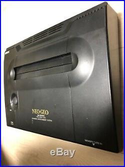 SNK Neo Geo AES Neogeo Japan Retro Gaming FULL SET Arcade Game Tested OK