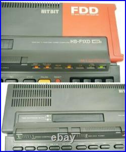 SONY MSX2 HB-F1XD Retro Game Computer Very Rare USED Japan used