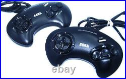 Sega Megadrive Console Boxed Sonic Edition With Game Retro-Refurb PAL UK