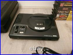 Sega Megadrive Console Bundle 29 Games Retro Vintage No controller