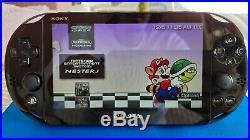 Sony PlayStation PS Vita 2000 3.60 HENKAKU ENSO 256GB HACKED Modded Retro Games