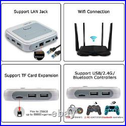 Super Console X Pro 50,000+ Retro Game Console Wireless Controllers Up To 256G