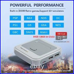 Super Console X Retro Mini WiFi 4K HDMI TV Video Game Console For PS1/N64/DC HD