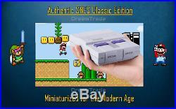 Super Nintendo SNES Classic Retro Gaming Console 7500 Games 20+ Consoles