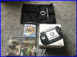 Tiger Telematics Gizmondo Handheld Console. Retro. Bundle & Games. Like Nintendo