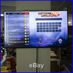 UK Stock 3D Pandora's Box 9s 2448 In 1 Retro Video Games Arcade Console HDMI USB