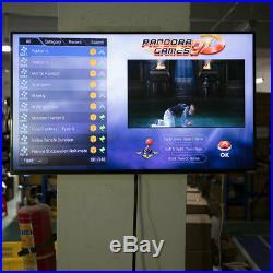 Upgraded 3D Pandora Box 9 Games 2448 in 1 Retro Arcade Console Double 138 Game #