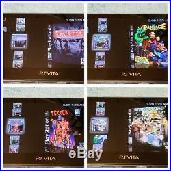 White PS Vita PlayStation Vita OLED 128GB (PSP, PS1, Retro games)